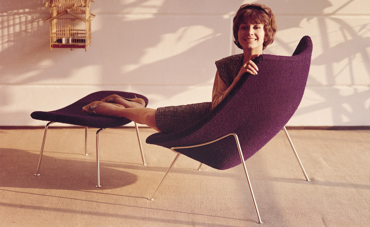 Oyster Lounge Chair Hivemodern Com