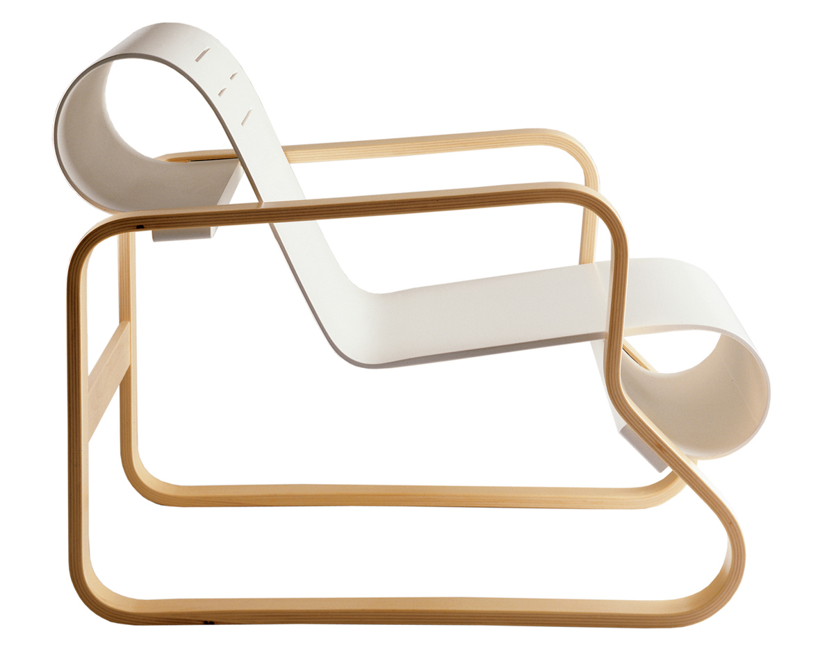 Paimio armchair 41 for Alvar aalto muebles
