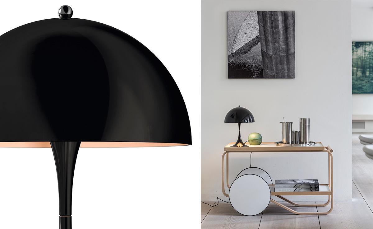 Verner Panton Panthella Mini Led Table Lamp Hivemodern Com