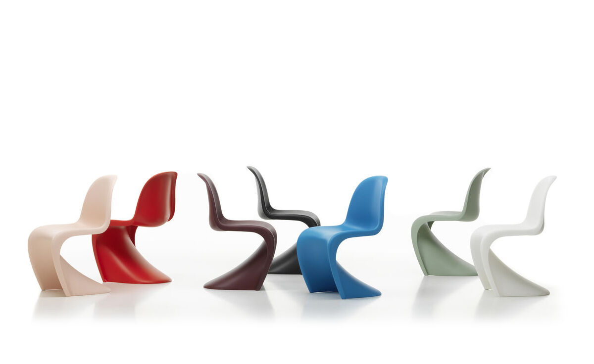 Panton chair for Sedie outdoor design