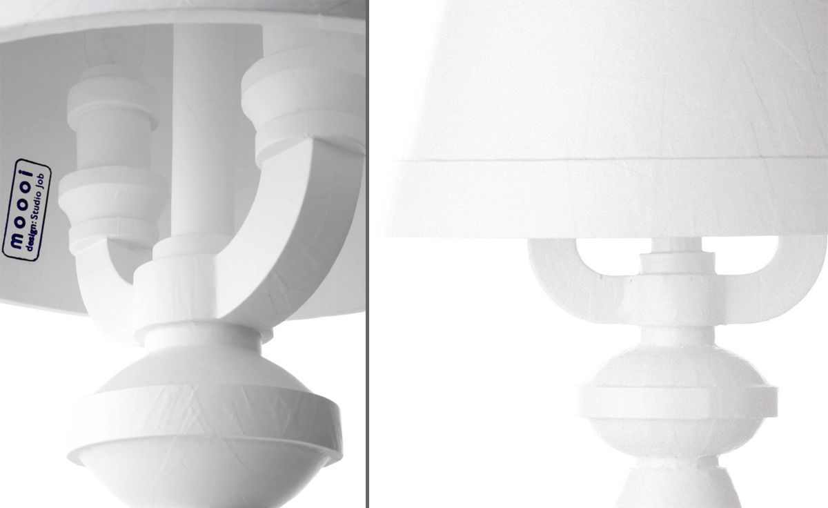 Paper table lamp hivemodern paper table lamp mozeypictures Gallery