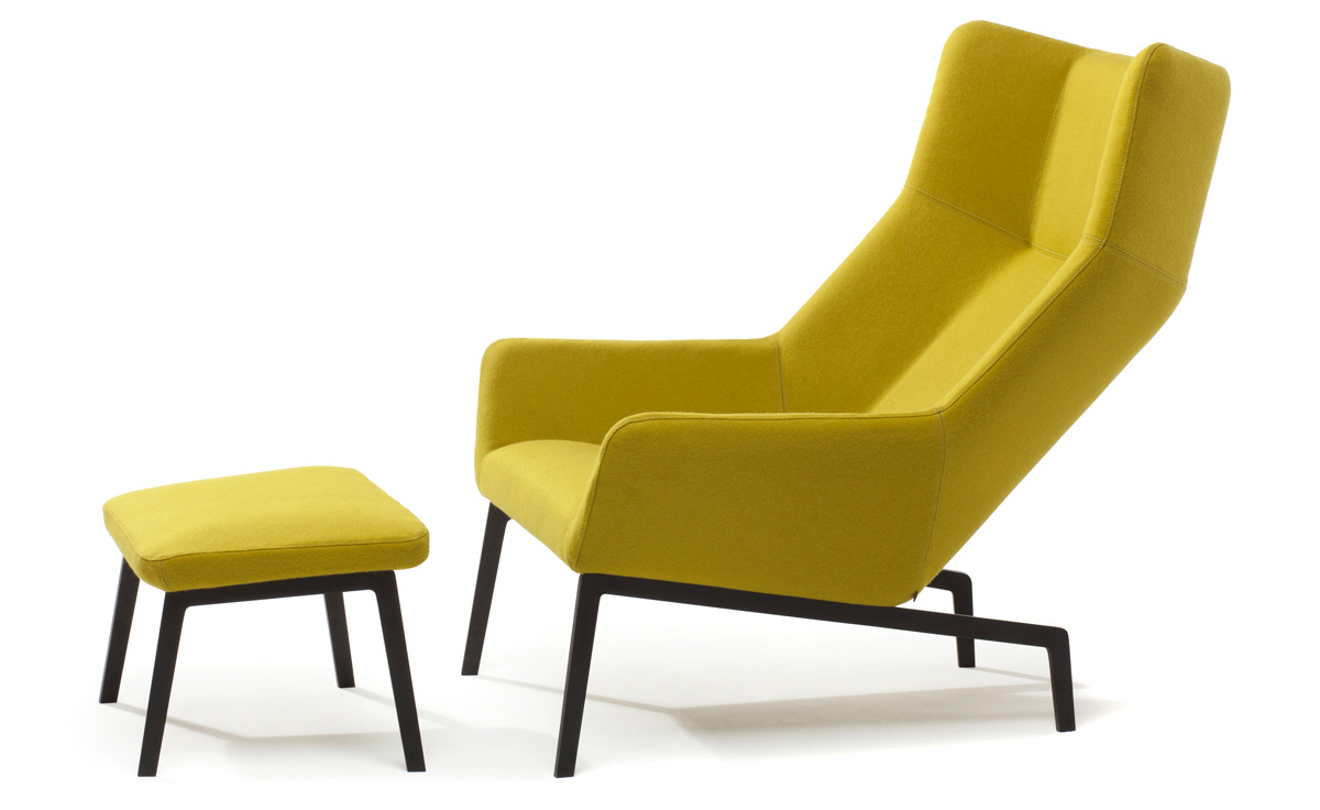 Launge Chair park lounge chair & ottoman - hivemodern
