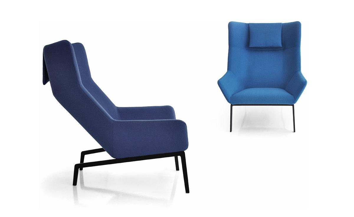 Park Lounge Chair & Ottoman - hivemodern.com