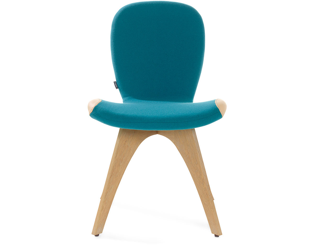 Patch 01 Chair With 4 Leg Base