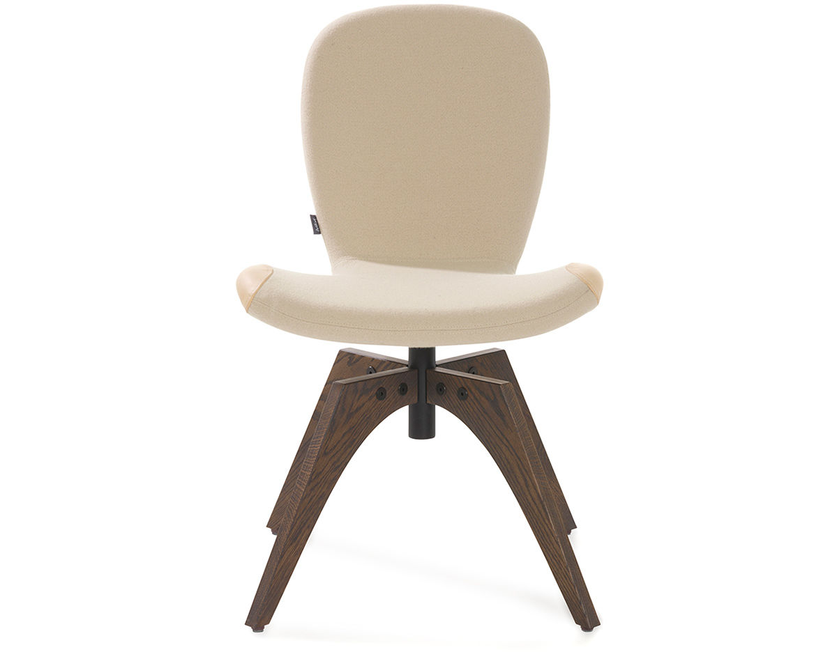Patch 01 Swivel Chair With 4 Leg Base Hivemodern Com