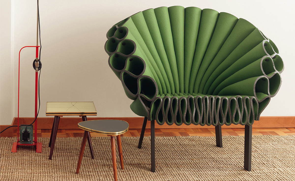 Peacock chair for Moderner lesesessel