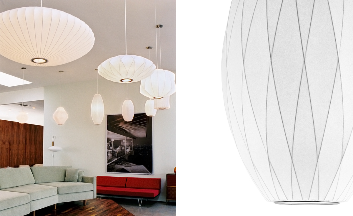 Nelson Bubble Lamp Crisscross Pear Hivemodern Com