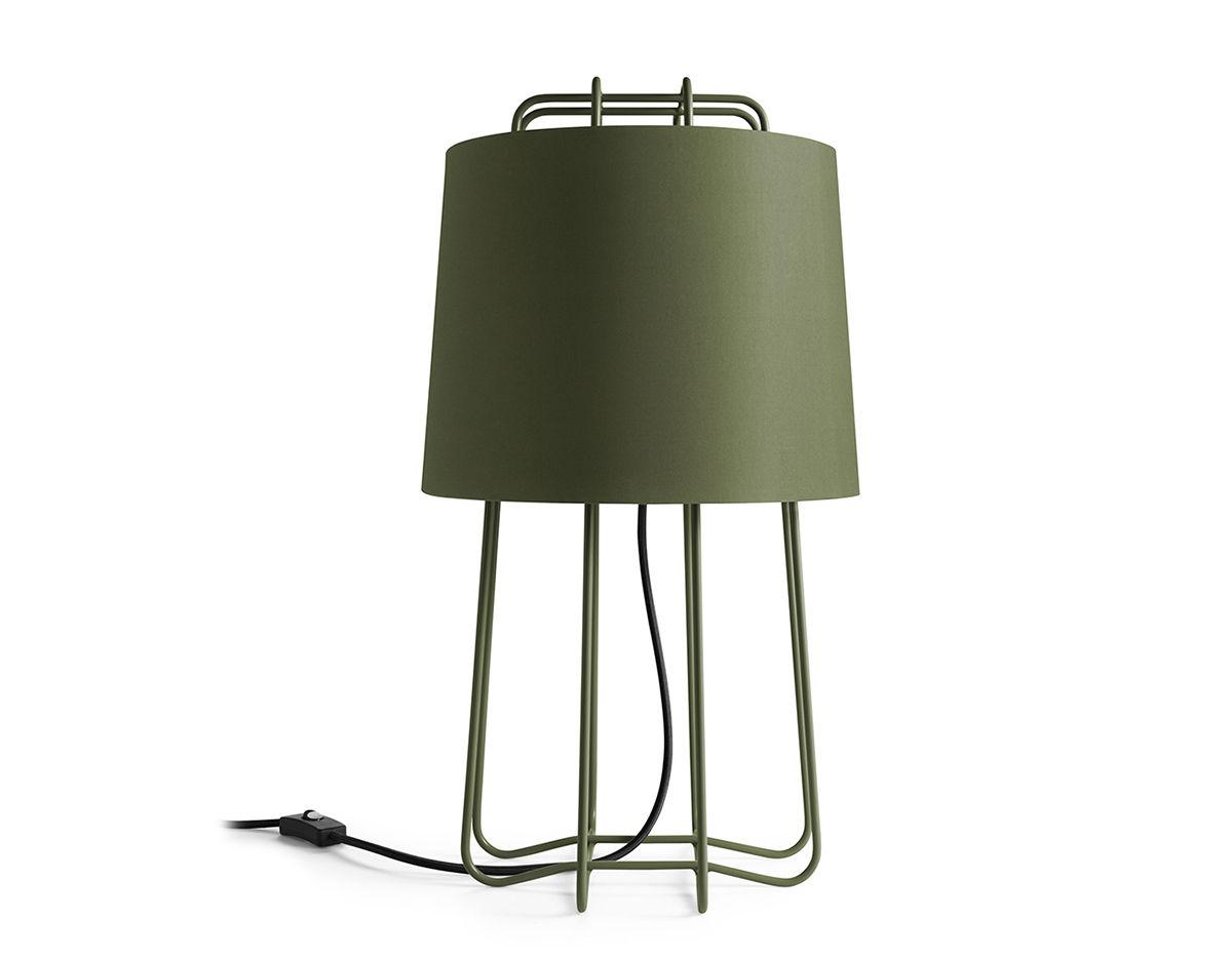 Lamp In Kast : Perimeter table lamp hivemodern