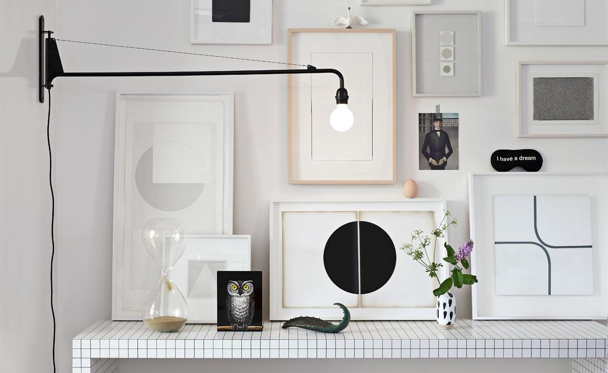 save off 49f52 80a2d prouve petite potence wall light