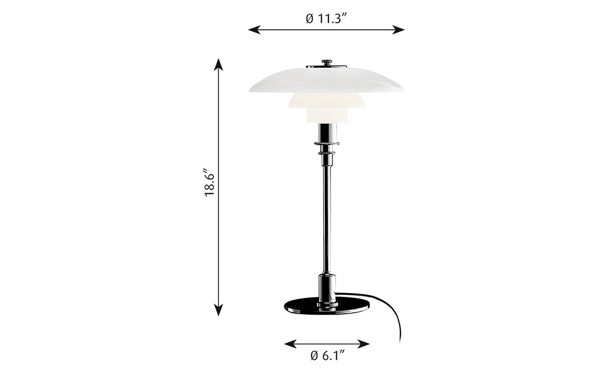 Ph 32 table lamp hivemodern ph 32 table lamp mozeypictures Choice Image