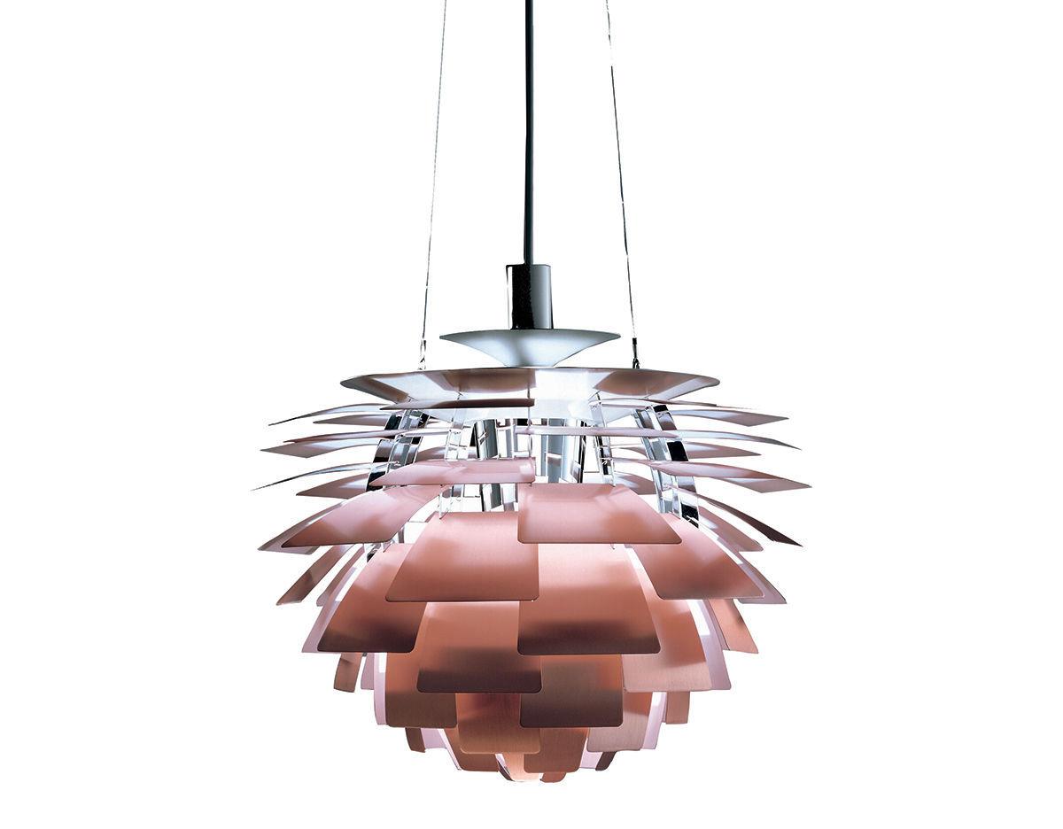Ph Artichoke Special Edition Copper Pendant Lamp