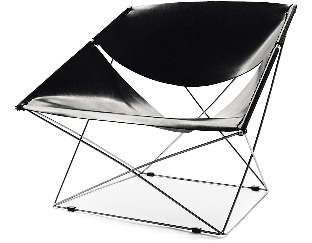 Butterfly chair black - Overview