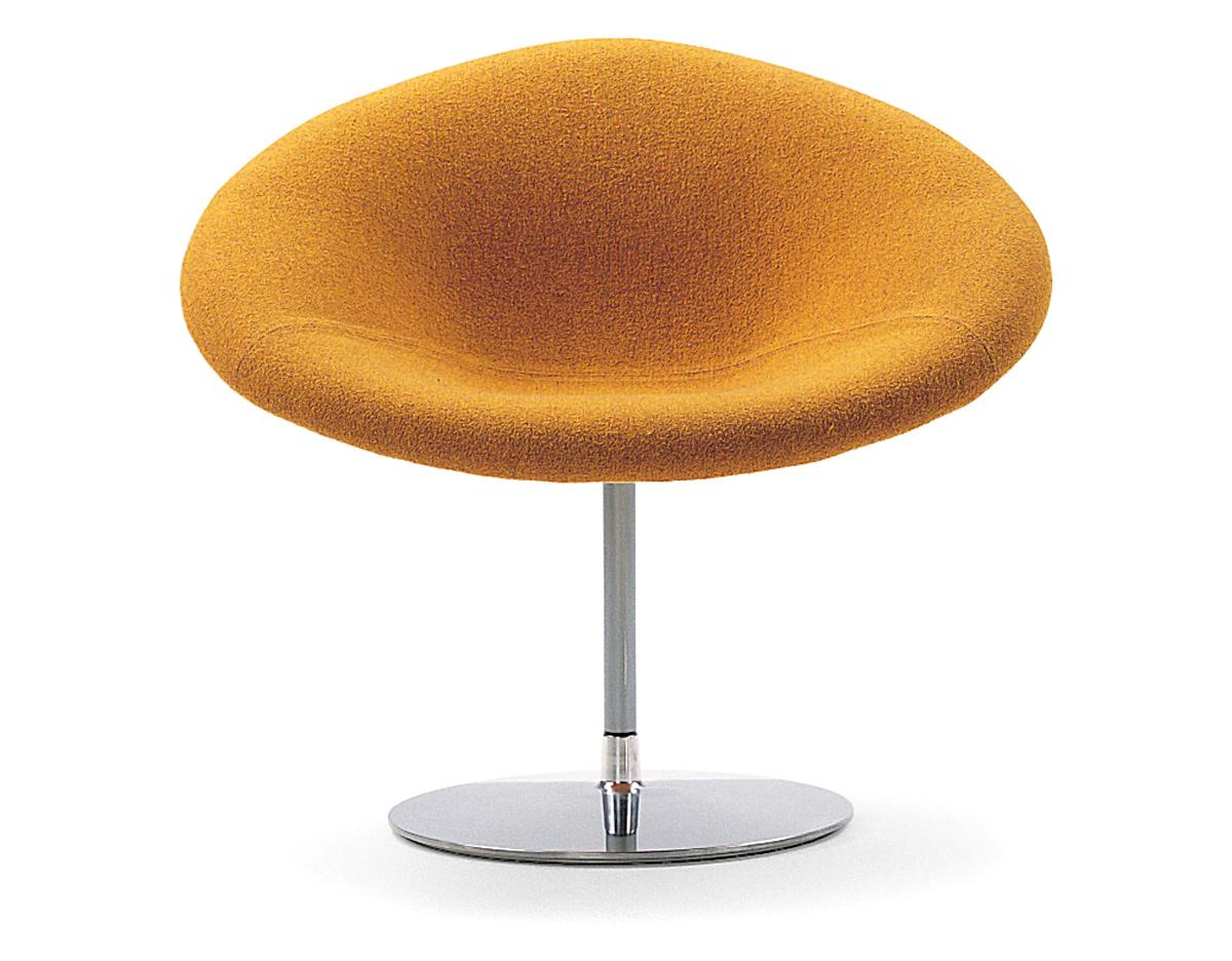 Pierre Paulin Little Globe Chair Hivemodern Com