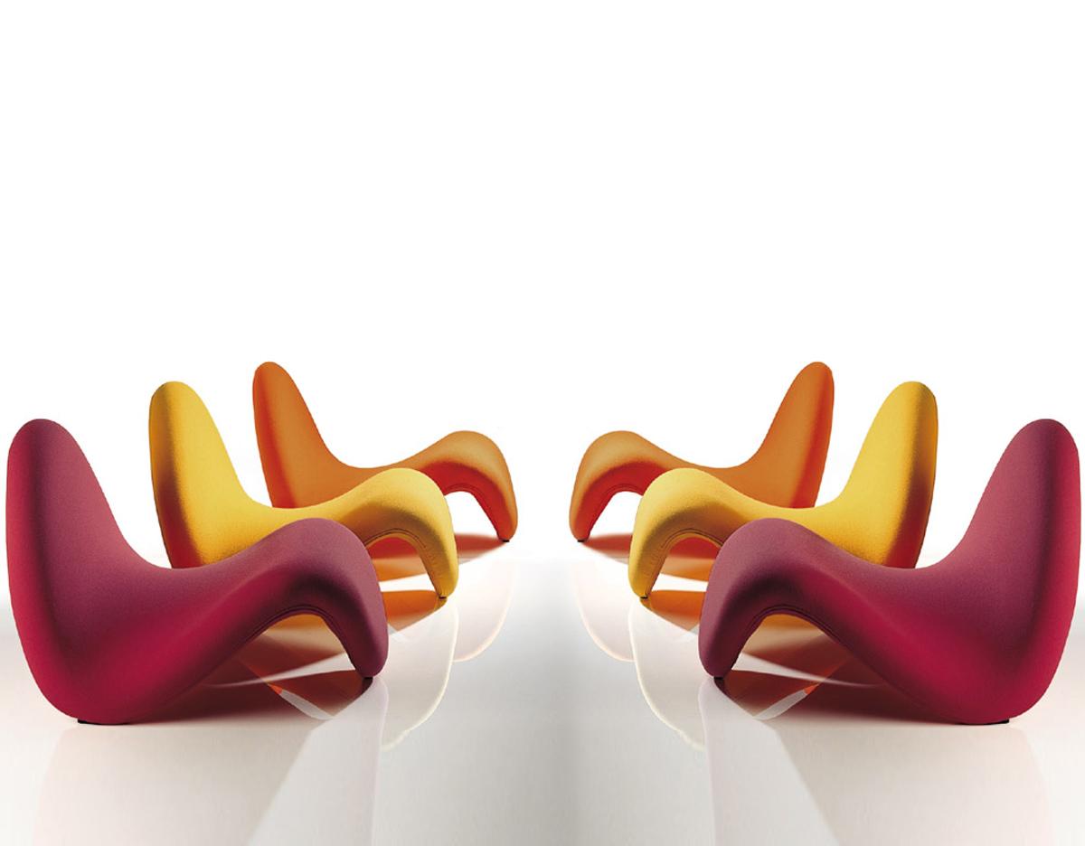 Pierre Paulin Tongue Chair hivemodern – Pierre Chair