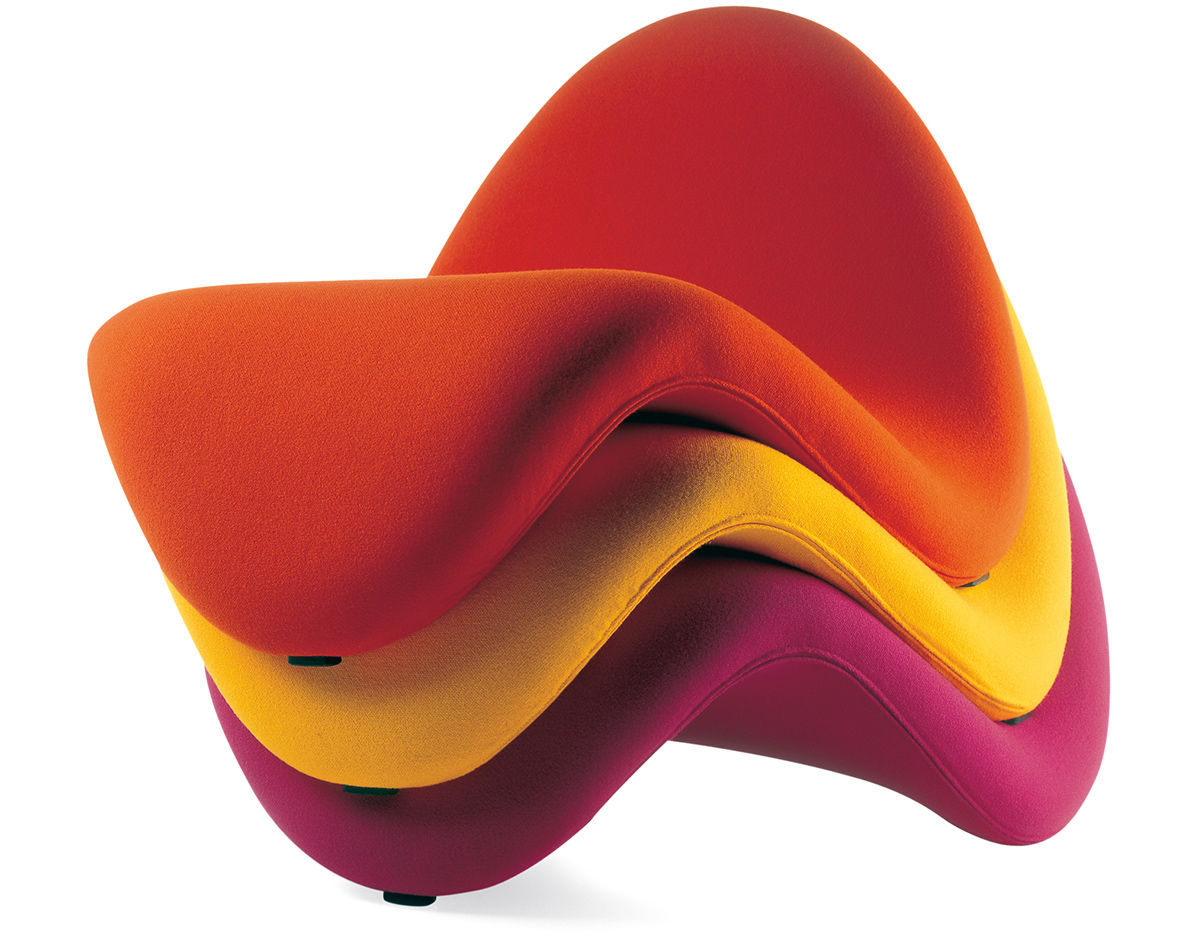 Pierre Paulin Tongue Chair Hivemodern Com