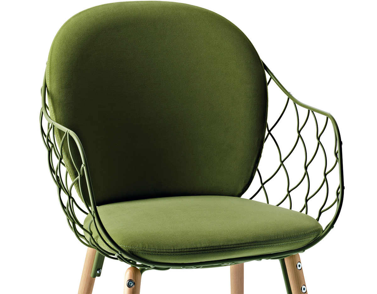 Magis Pina Chair With Full Back Cushion