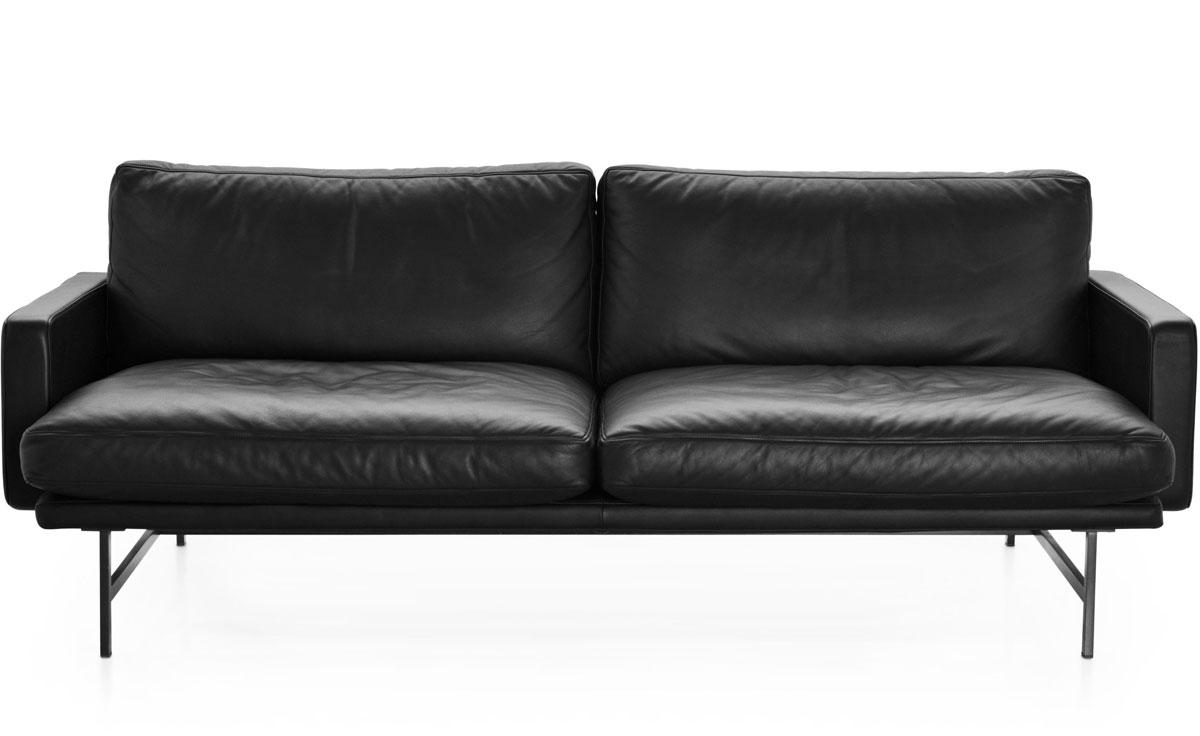 Lissoni Pl112 2 Seat Sofa Hivemodern Com