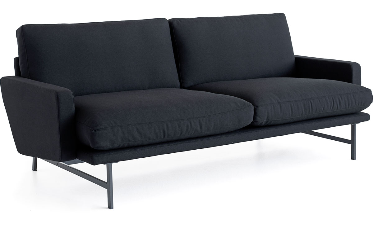 lissoni pl112 2 seat sofa. Black Bedroom Furniture Sets. Home Design Ideas