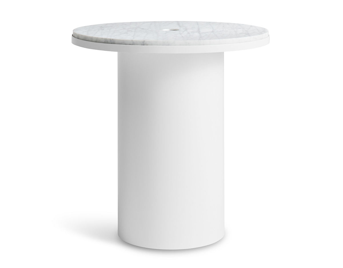 Modern white side table - Overview Manufacturer Media Reviews