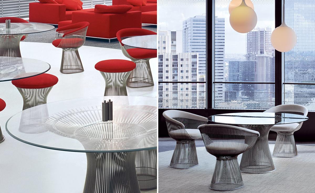 3320f5c100d7 Platner Arm Chair - hivemodern.com