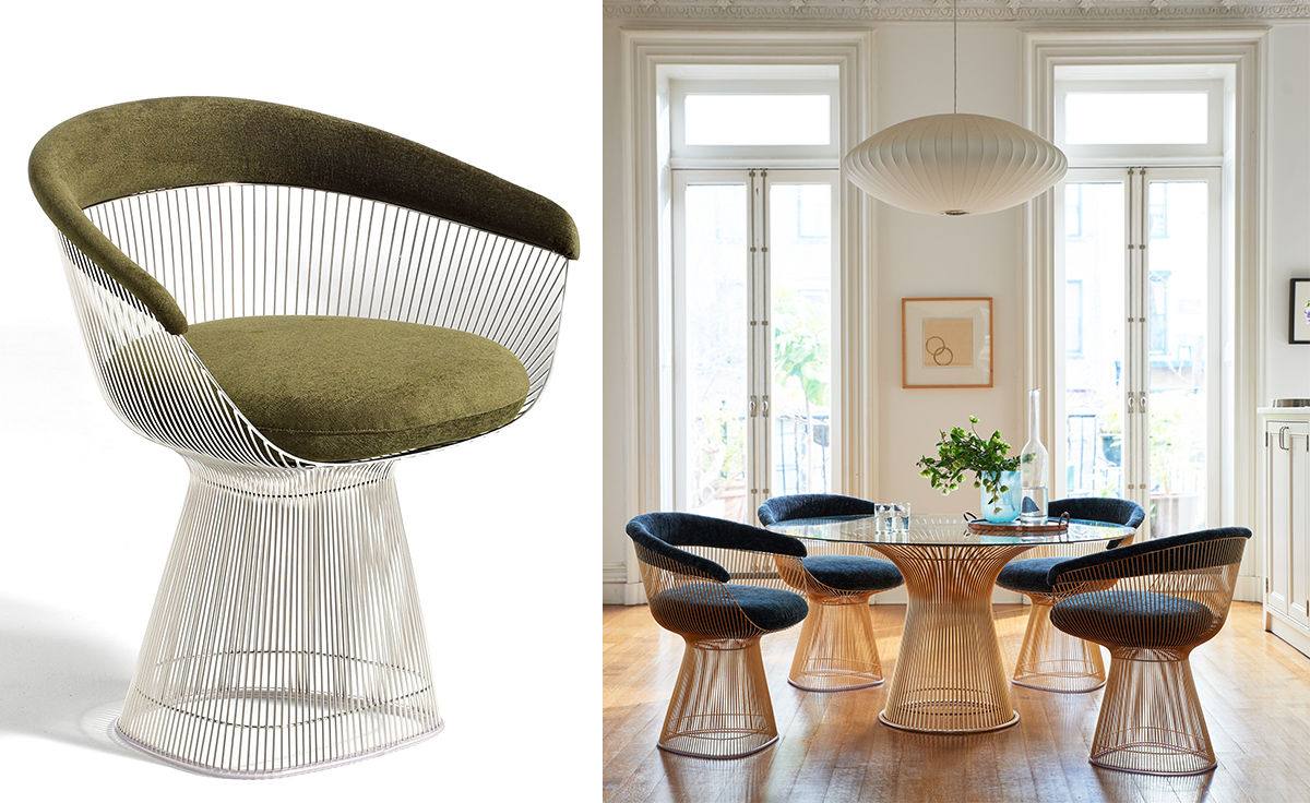Platner Arm Chair Hivemodern Com