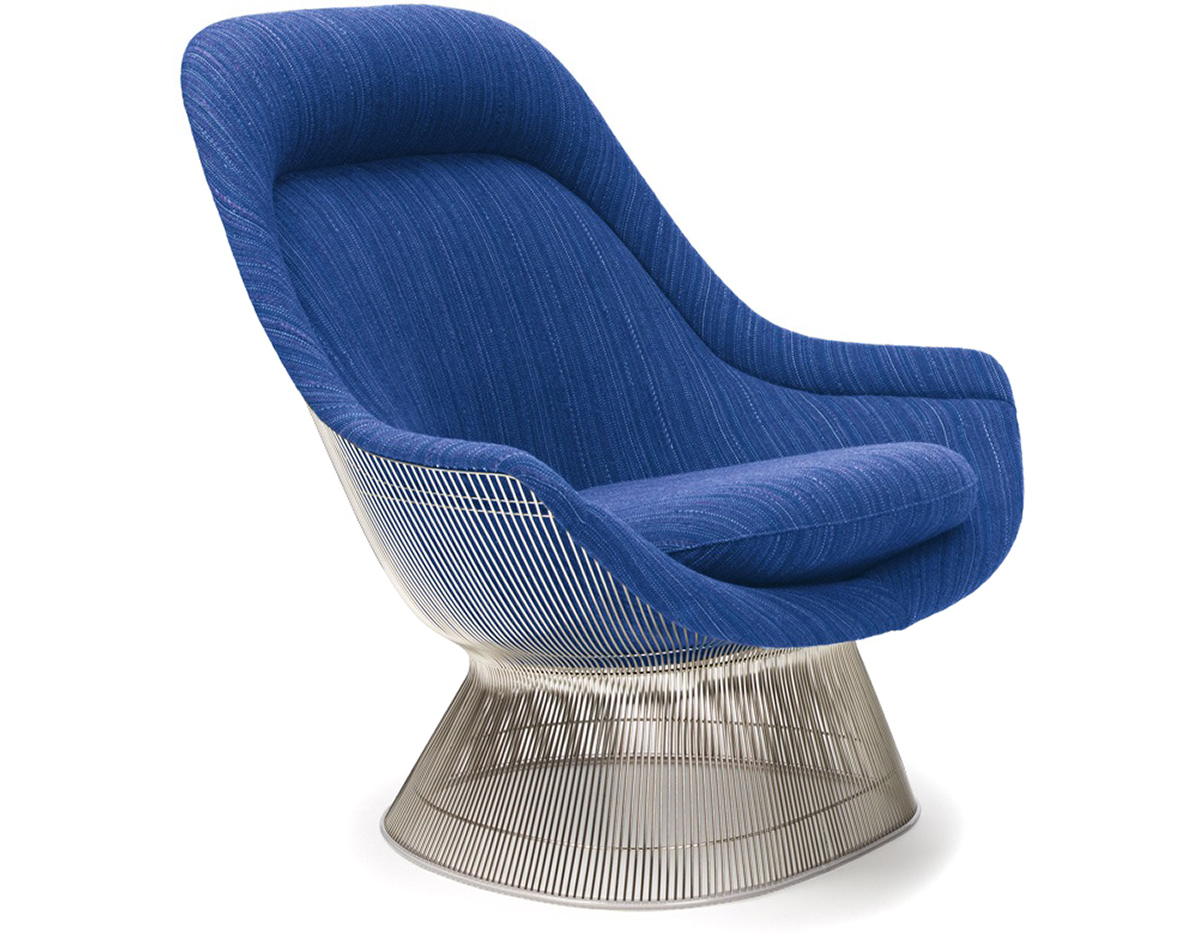 platner easy chair warren platner knoll