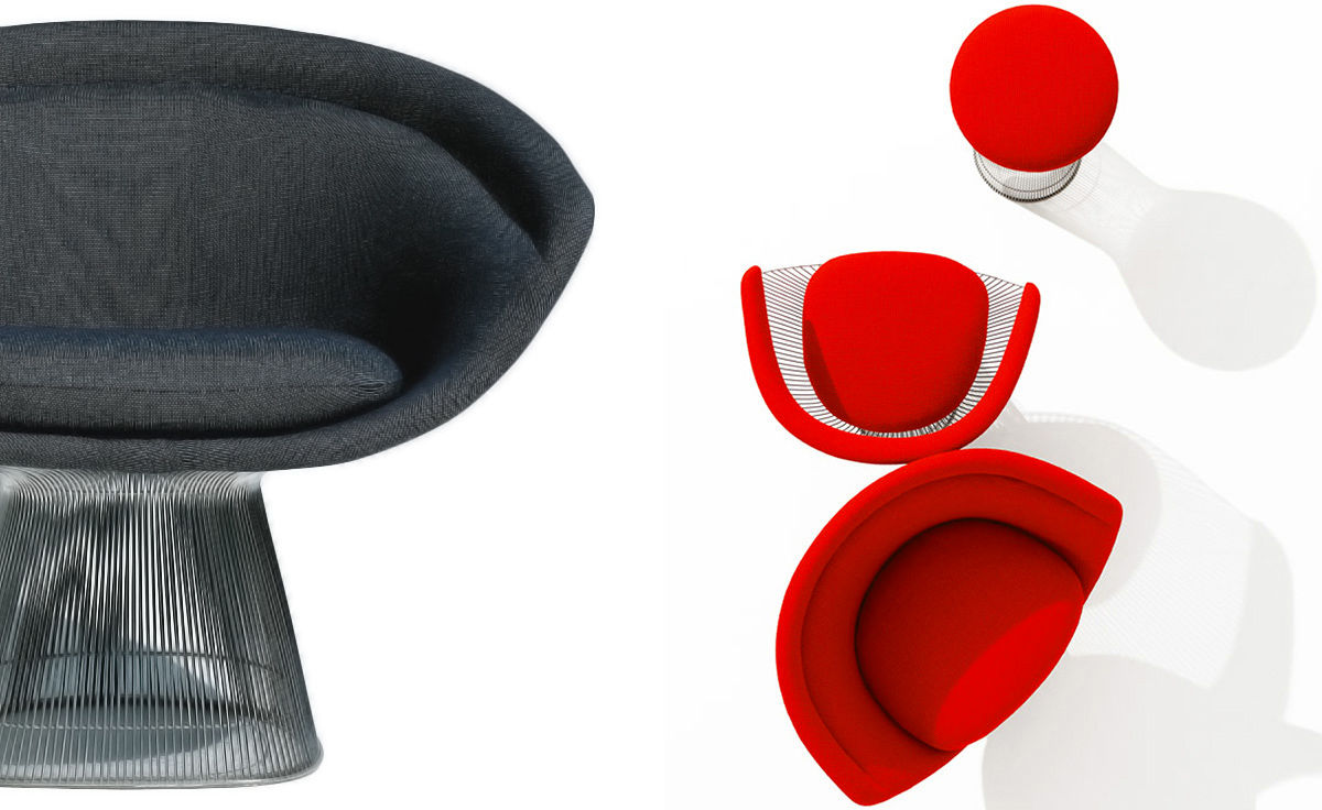 Platner Lounge Chair - hivemodern.com