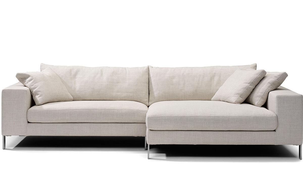 plaza small sectional sofa