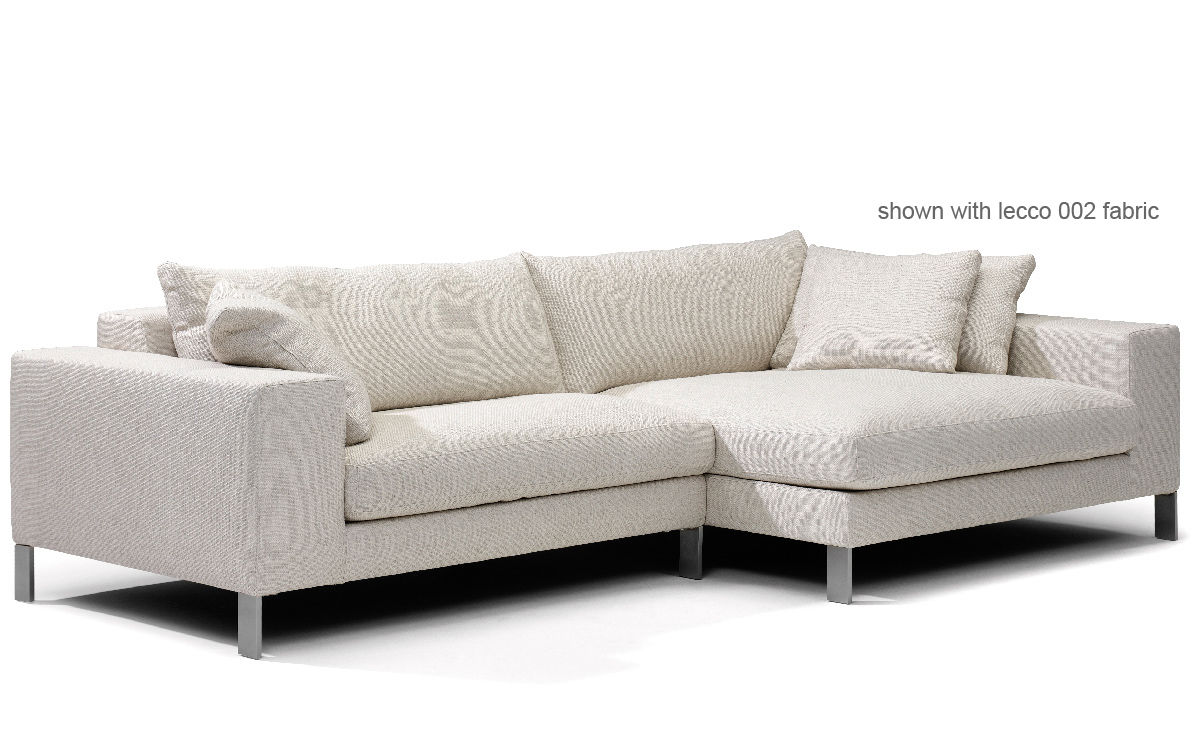 Plaza small sectional sofa for Sectional couch