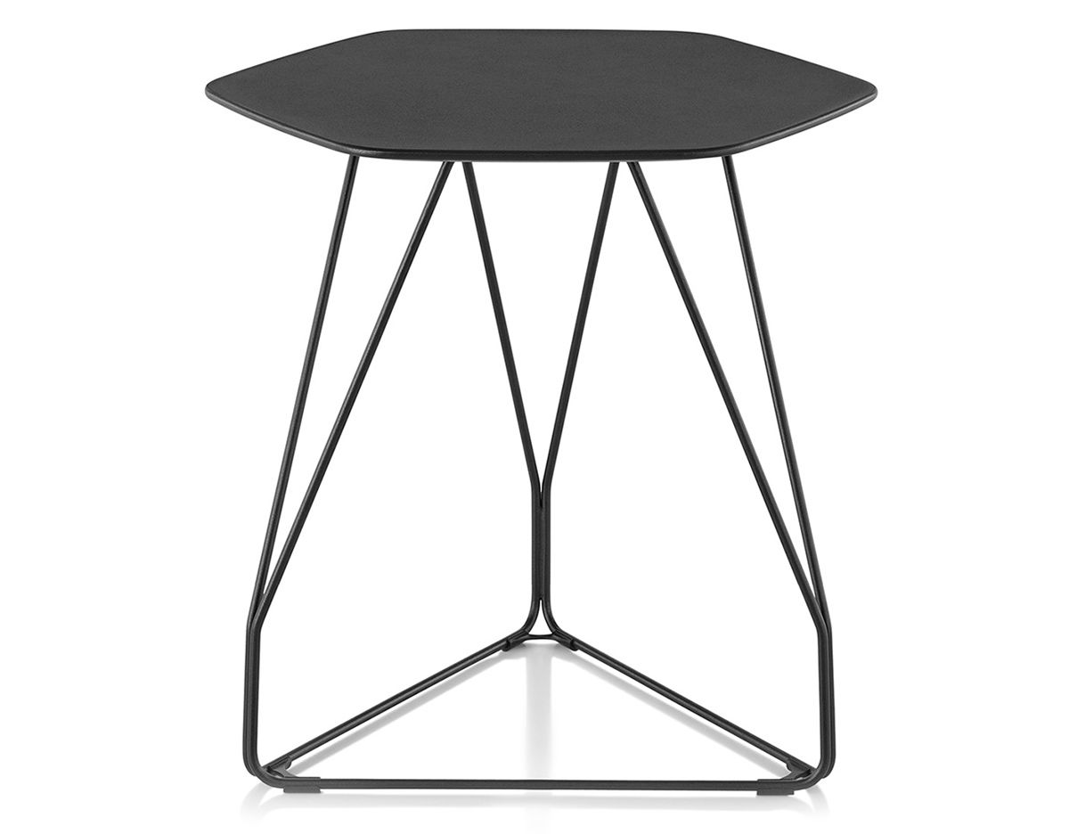 Polygon Wire Table Hexagon Hivemodern Com