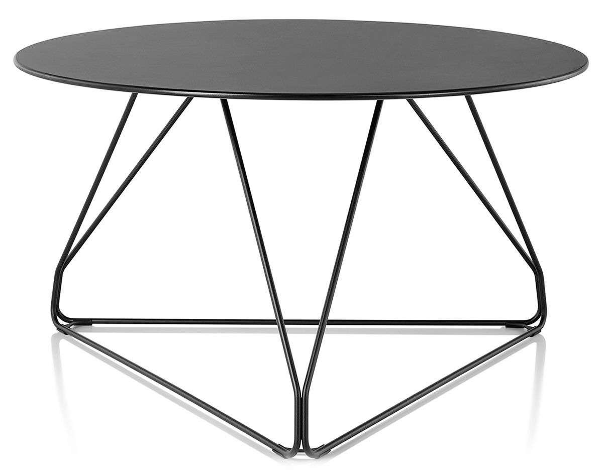 Polygon Wire Table Round hivemoderncom
