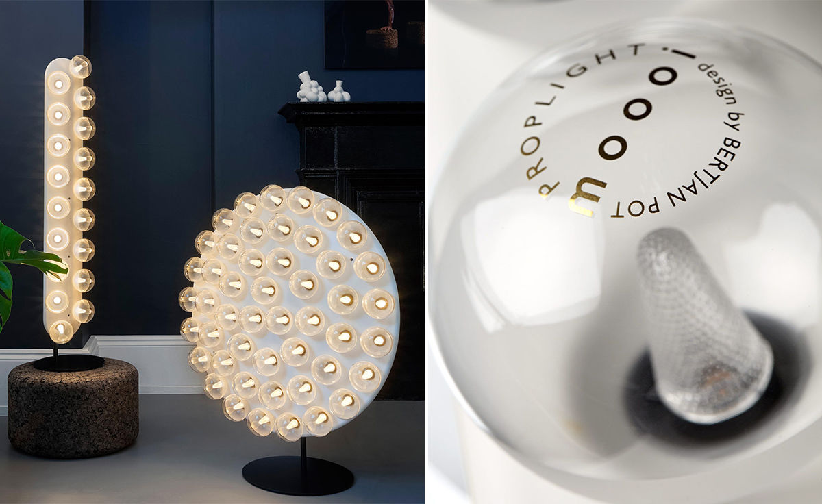 Prop light round floor lamp hivemodern overview aloadofball Gallery