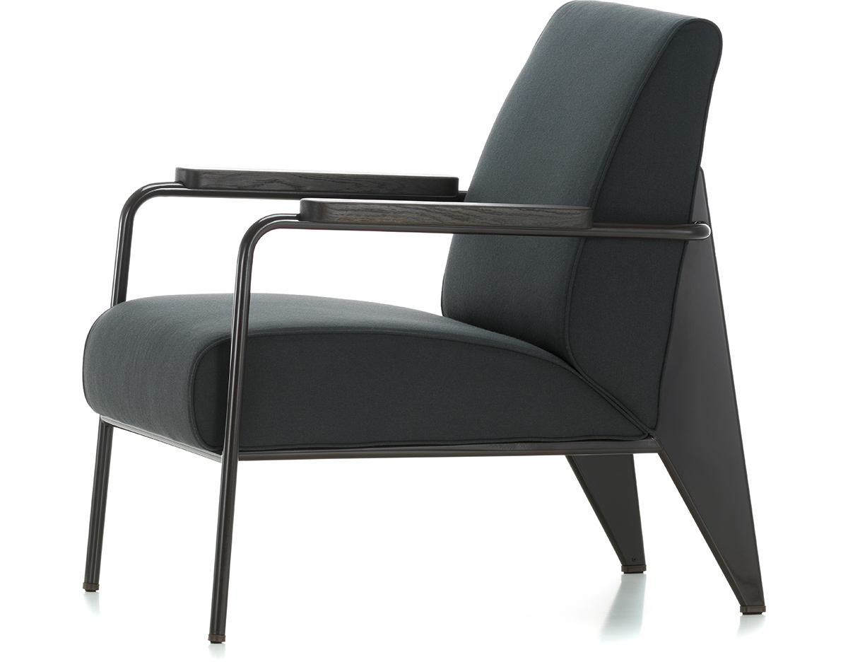 prouv fauteuil de salon lounge chair. Black Bedroom Furniture Sets. Home Design Ideas