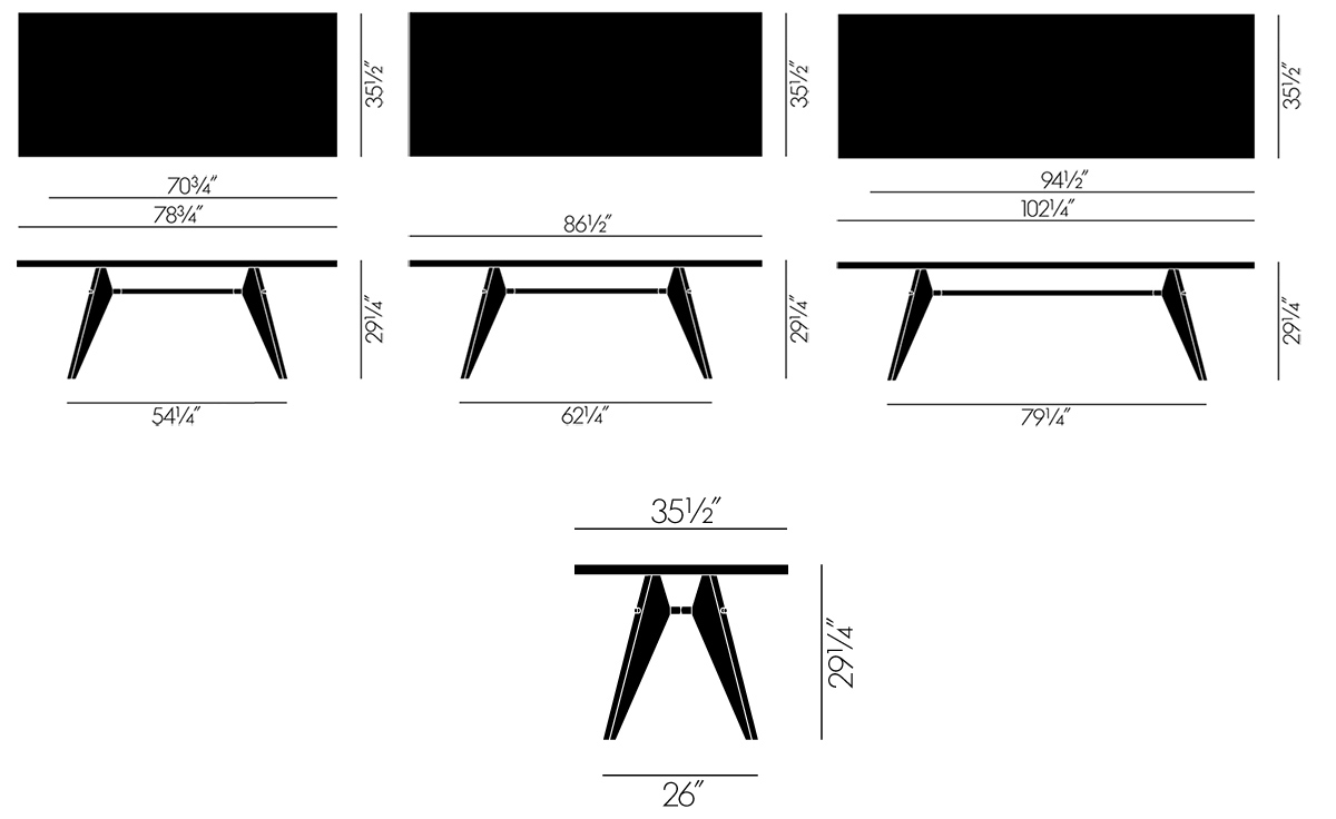 Image Result For Dining Table Standard Dimension