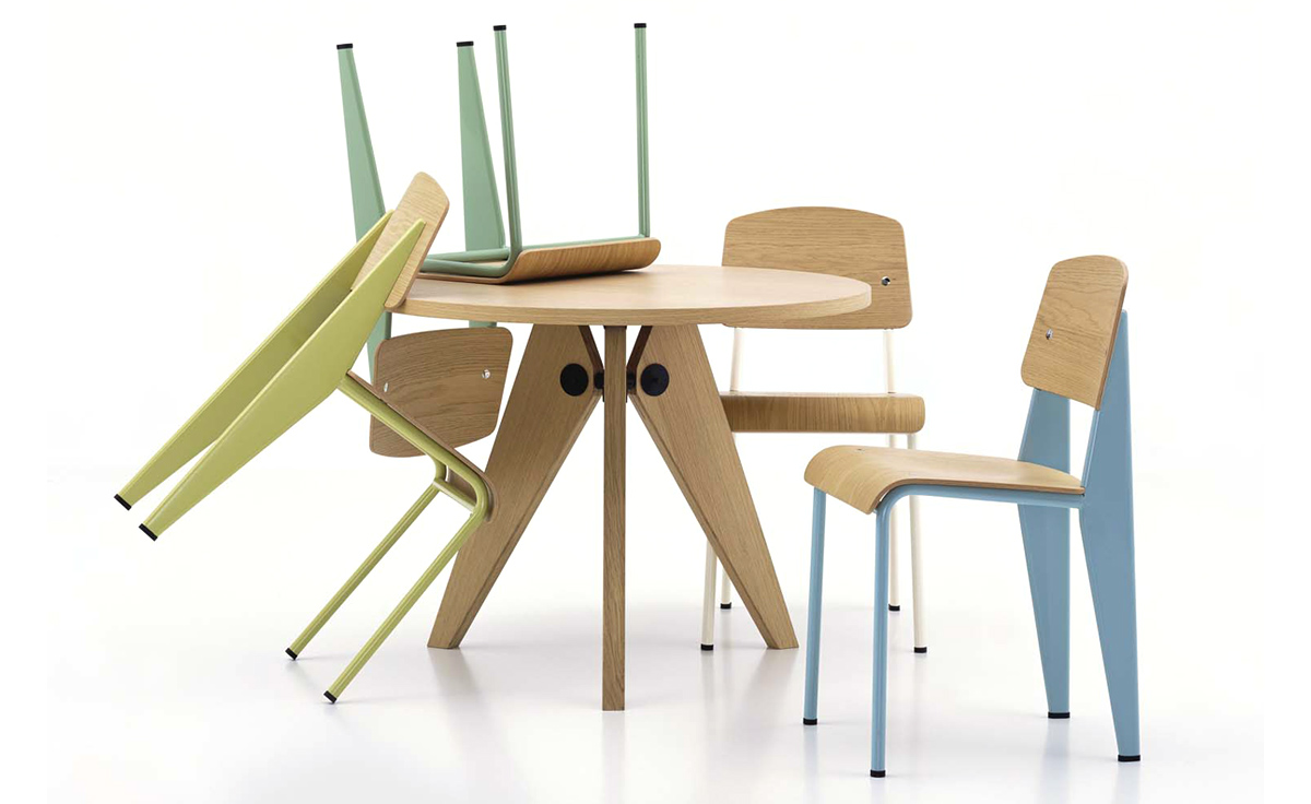 prouv gu ridon table. Black Bedroom Furniture Sets. Home Design Ideas