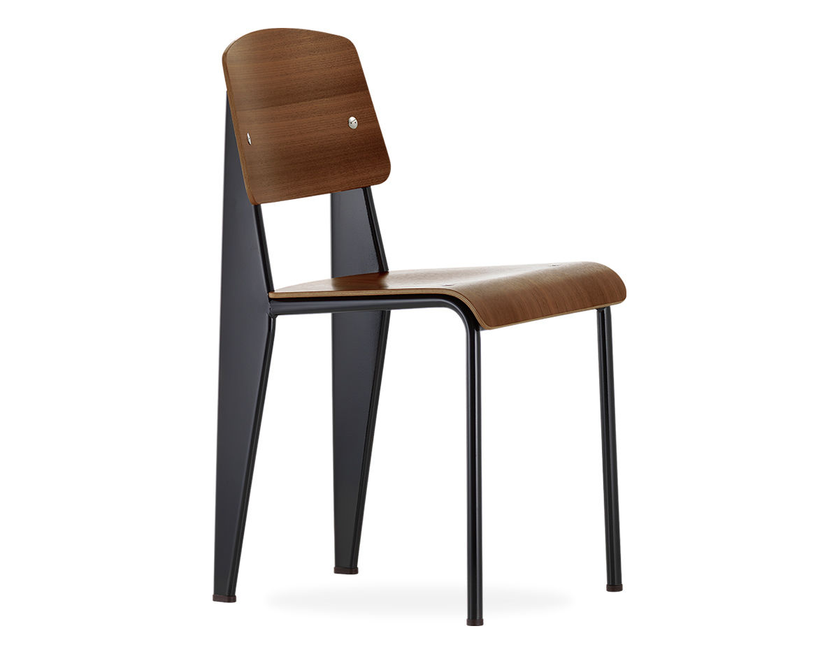 Vitra Jean Prouve Standard Chair on classic home furniture manufacturer