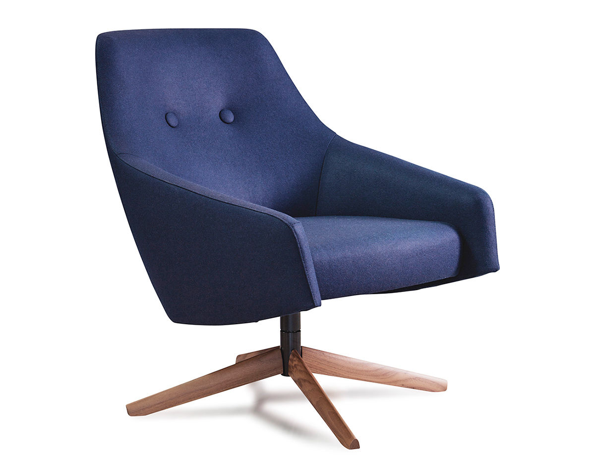 Puk Low Lounge Chair - hivemodern.com