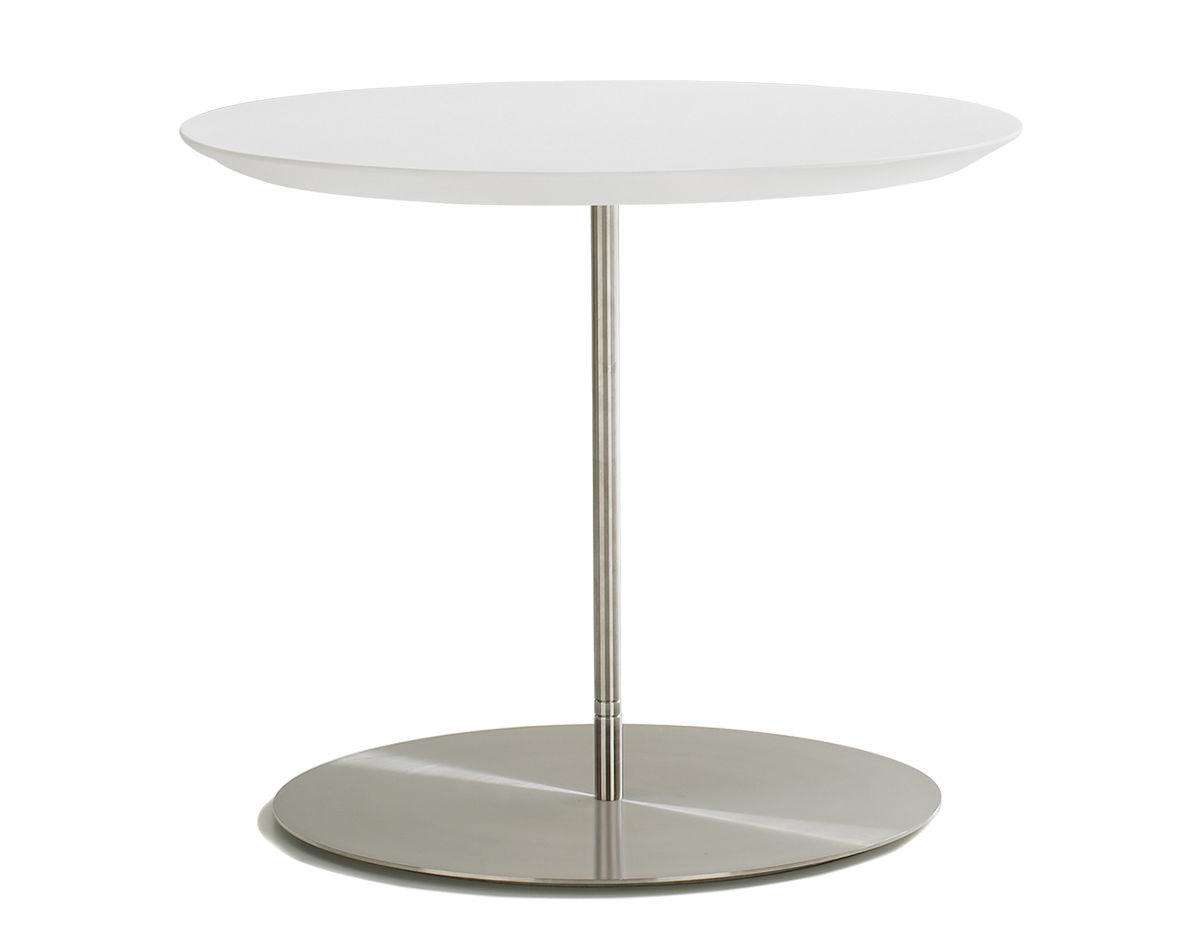 Quiet Round Top Occasional Table Hivemodern Com