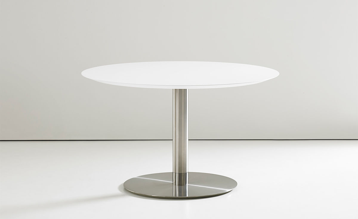Quiet Round Work Table Hivemodern Com