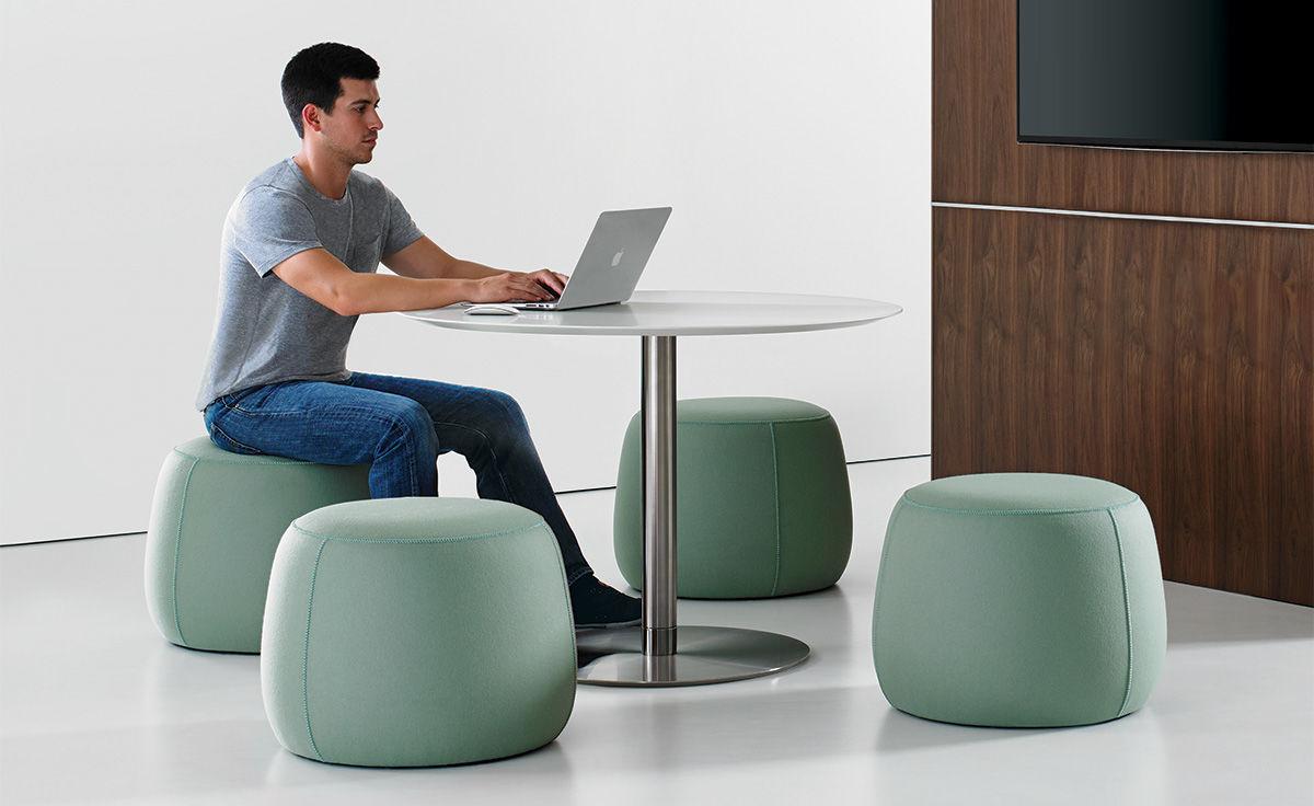 Quiet Round Work Table Hivemodern Com
