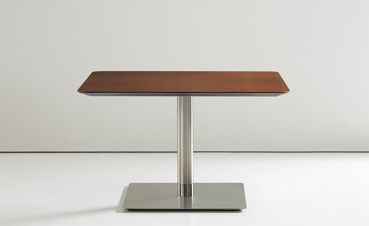 quiet square work table - hivemodern