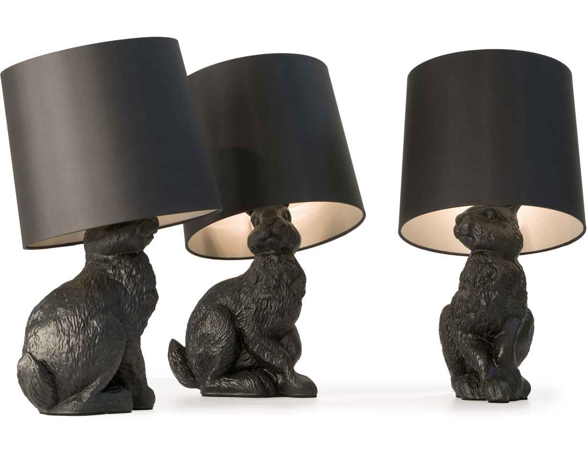 Rabbit table lamp hivemodern rabbit table lamp aloadofball Choice Image
