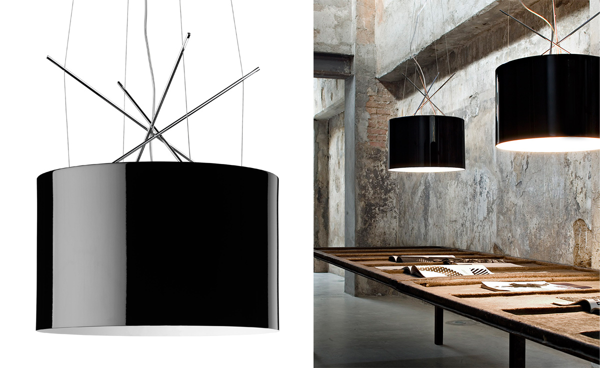 ray suspension lamp. Black Bedroom Furniture Sets. Home Design Ideas