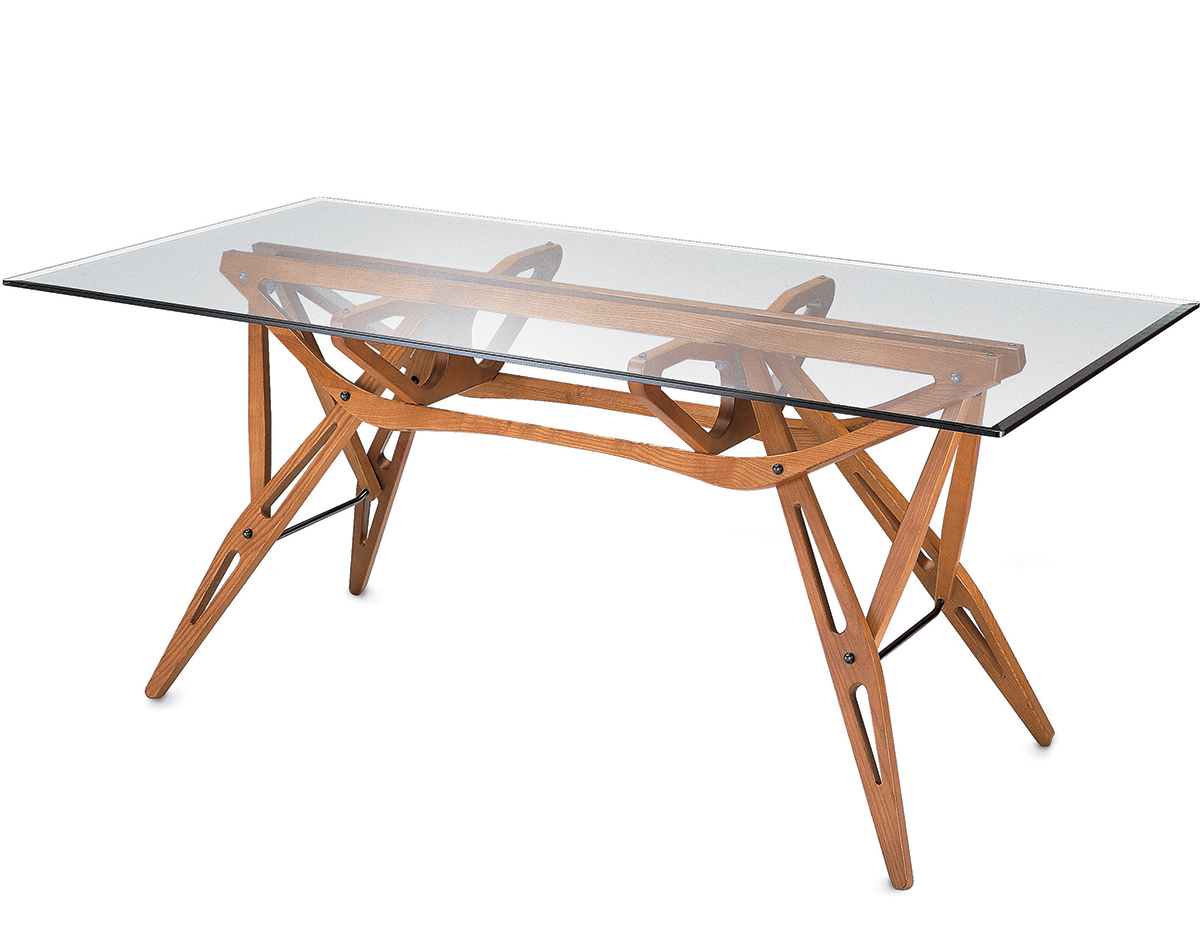 Carlo mollino reale table for Table zanotta