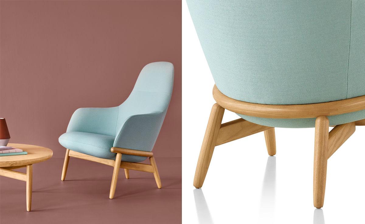 Reframe High Back Lounge Chair Hivemodern Com