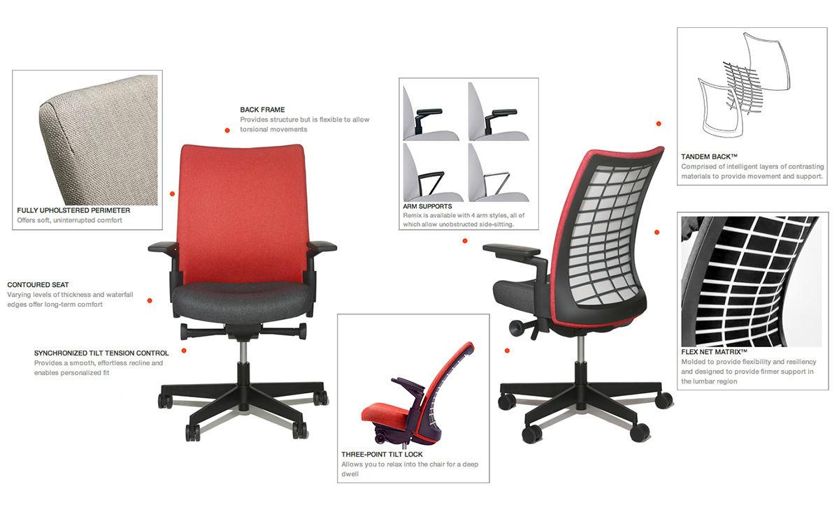 Remix® Work Chair - hivemodern.com