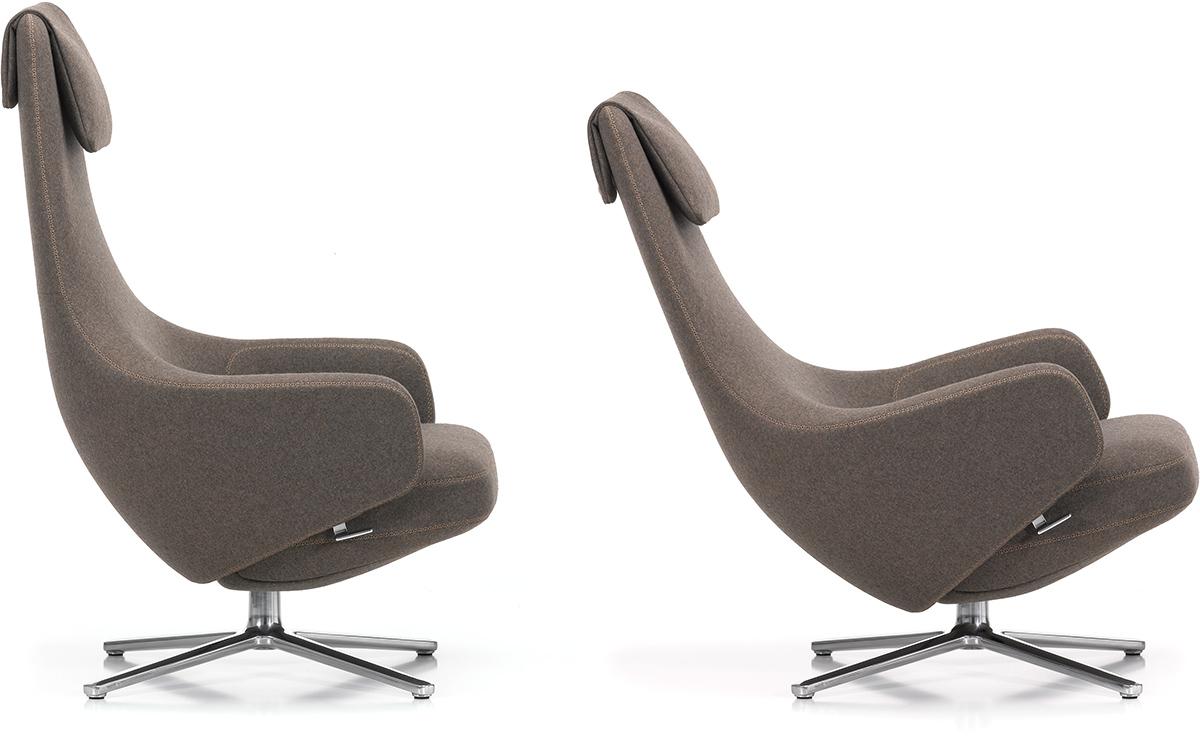 Repos Lounge Chair Amp Ottoman Hivemodern Com