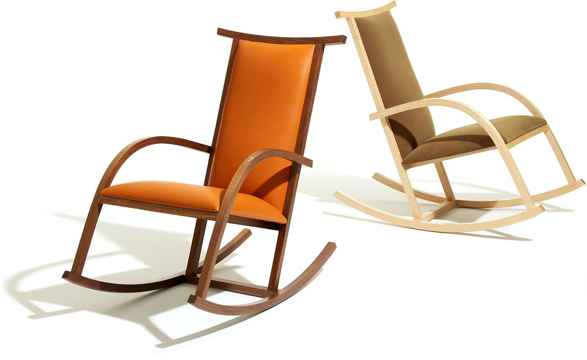 Riart rocker - Knoll rocking chair ...