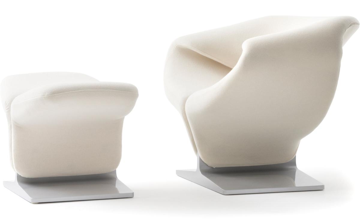 Ribbon Chair & Ottoman