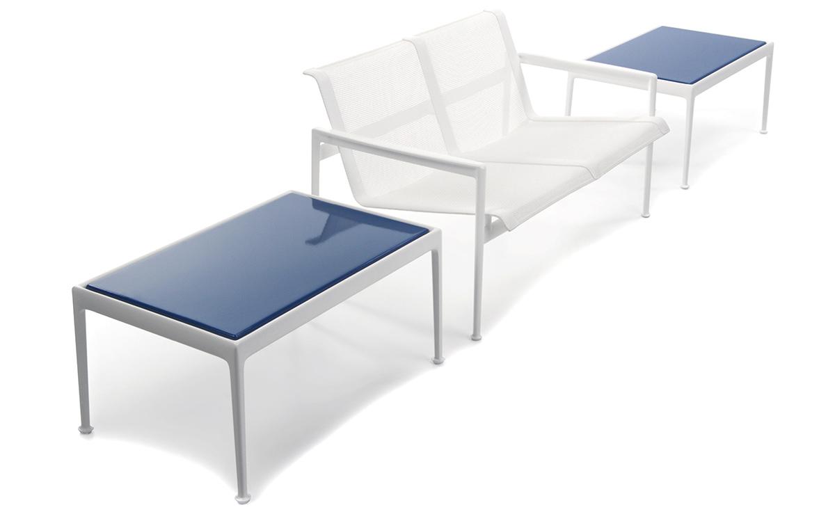 richard schultz 1966 rectangular coffee table hivemodern com rh hivemodern com richard schultz outdoor furniture richard schultz outdoor furniture